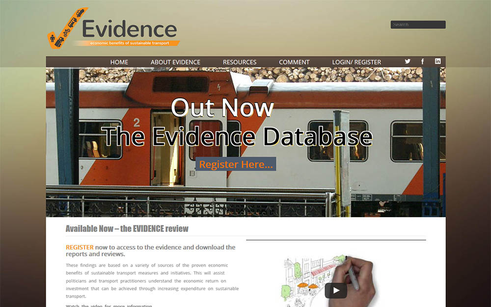 The Evidence Project (2013 – 2015)