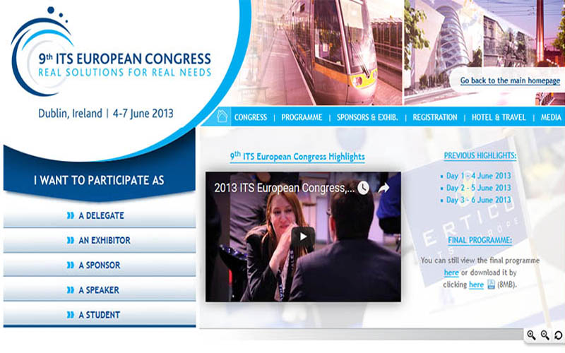 Interactions Ltd to present at ITS European Congress