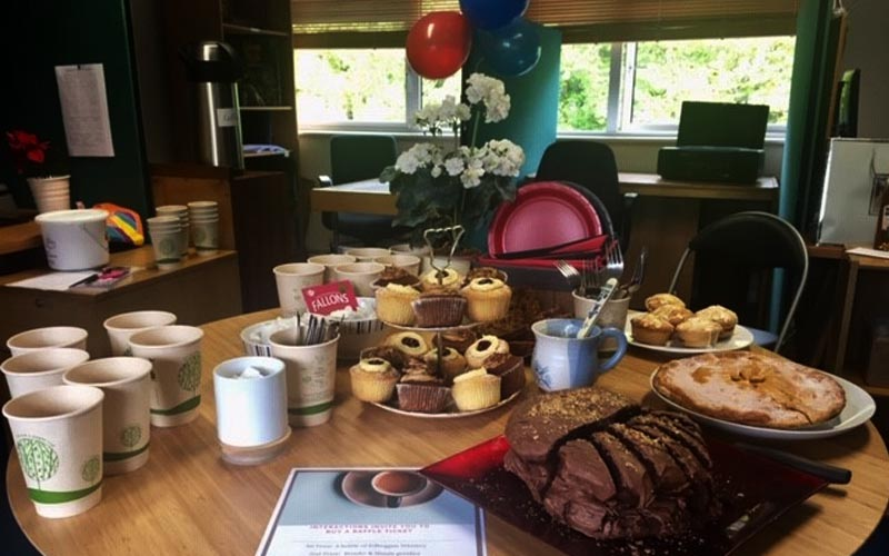 Coffee morning at Interactions Research Ireland